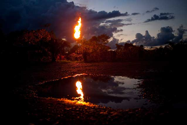 Chevron designed their oil extraction systems to pollute the rainforest in order to save a few dollars per barrel