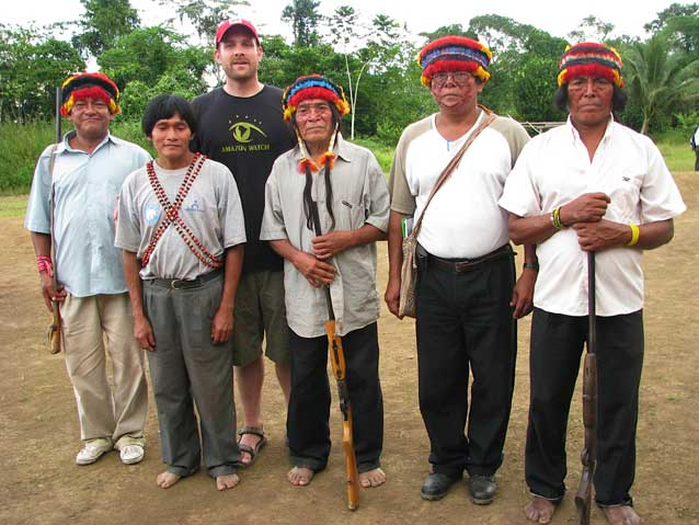 Visiting with the Achuar in Peru