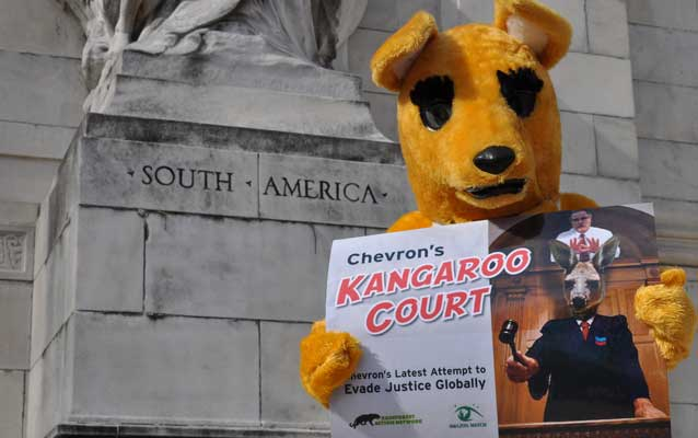 Chevron's Kangaroo Court: Citizens United on Steroids