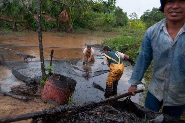 Cleaning up Chevron's contamination - with no help from the company