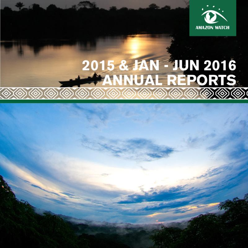 2015 & Jan-Jun 2016 Annual Reports