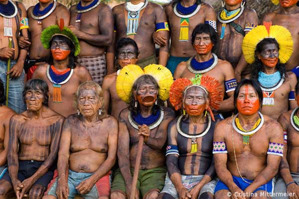 Kayapo leaders