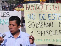 Indigenous Group Again Rejects Ivanhoe's Drilling Plans, Takes Battle to Ecuador's Congress