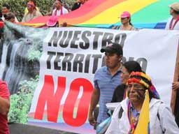 Ecuador's Indigenous Peoples Reach Quito After 600-km March for Water, Life, and Dignity