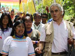 Human Rights Court In Unprecedented Visit to Sarayaku