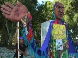 International Coalition Protests Chevron Shareholders' Meeting
