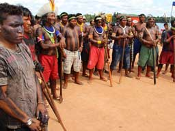 Day 10 of the Indigenous Occupation of the Belo Monte Pimental Dam Site