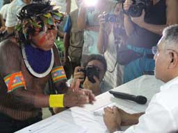 Amazonian Indigenous Leaders Call for Suspension of Construction License for Belo Monte Dam