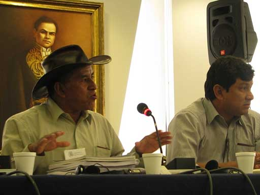 Bringing the Fight over Bolivia's TIPNIS Road to Washington, DC