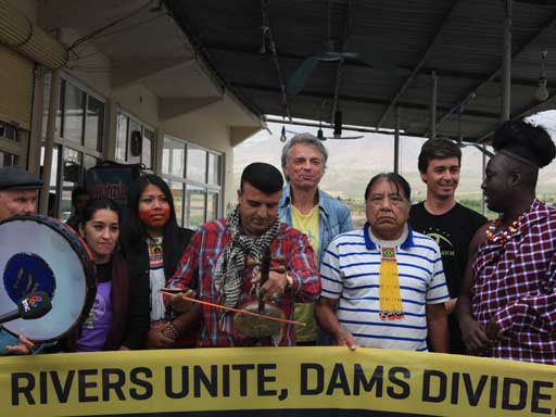International Activists Block Ilisu Dam Construction Site in Turkey