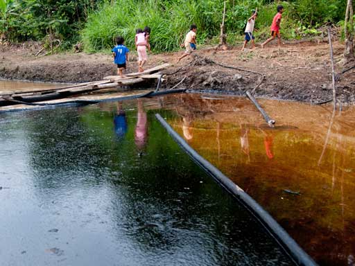 Oil Is Not Life in the Amazon
