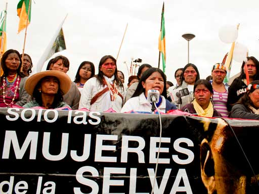 Amazonian Indigenous Women Mobilize for Life