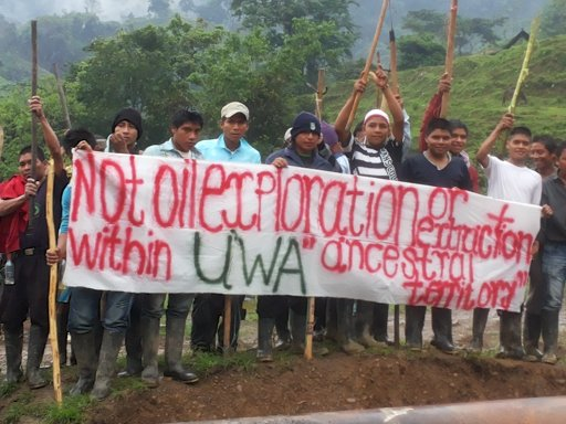 Colombia's U'was Say No to Gas Drilling in Their Territory