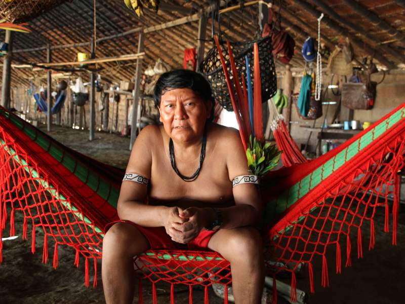 "A Brave Call from the ""Dalai Lama of the Amazon"""