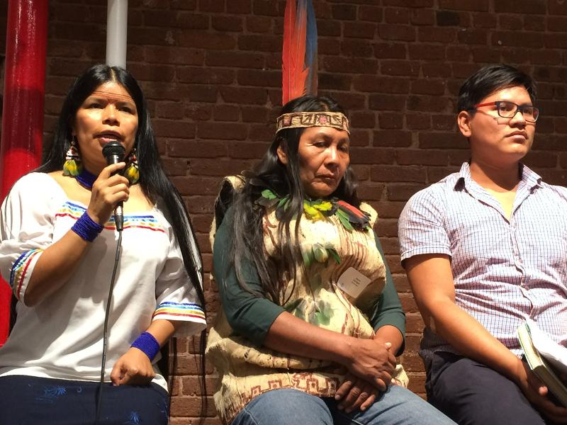 Voices from Ecuador Echo in New York