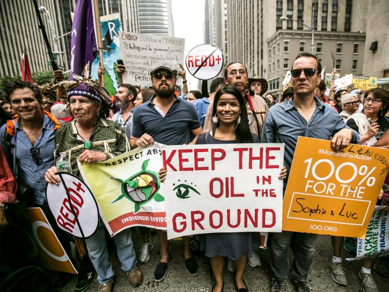 Indigenous Voices Lead Largest Climate March Ever