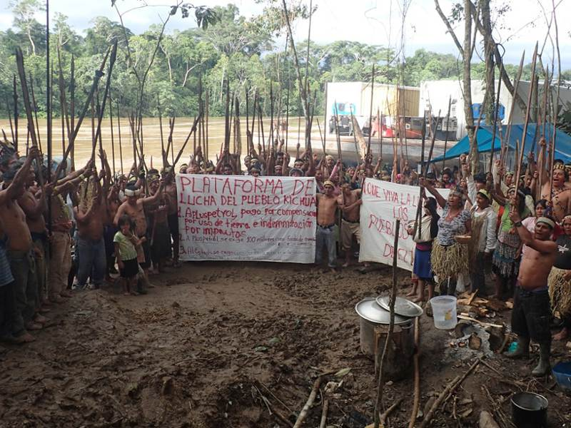 Peru's Indigenous People Protest Against Relicensing of Oil Concession