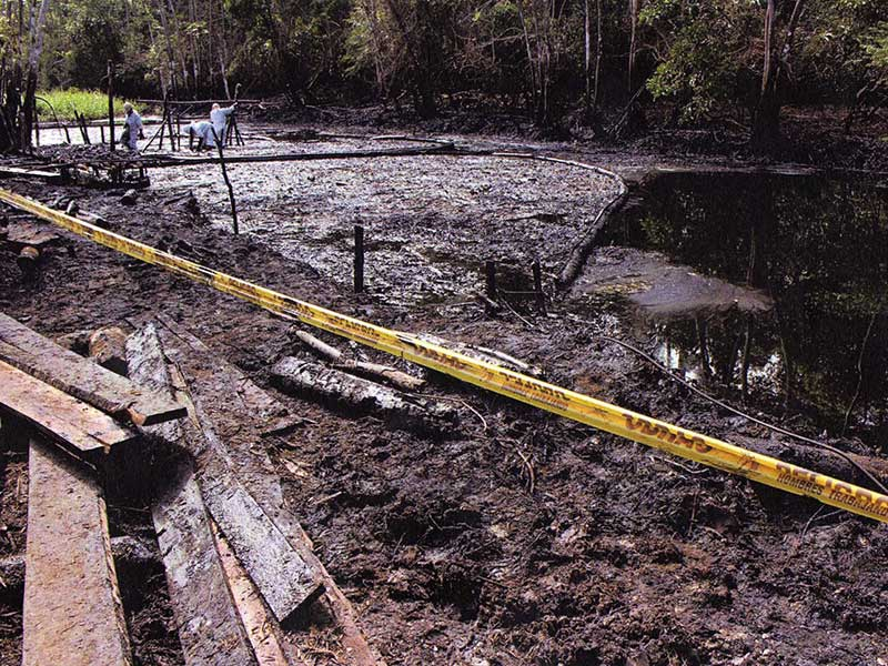 Indigenous Groups Fight Back Against Oil Industry after Pipeline Spills Poison the Amazon