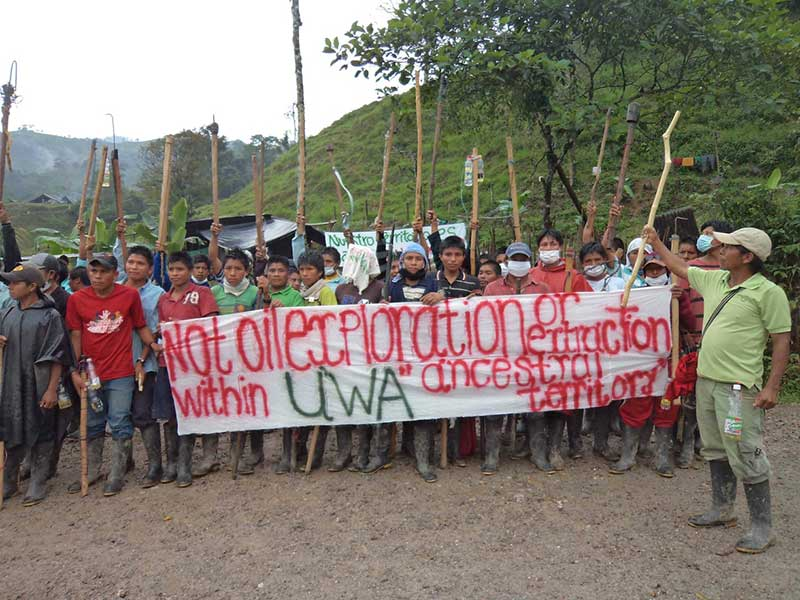 Victory! Gas Project in U'wa Territory Dismantled