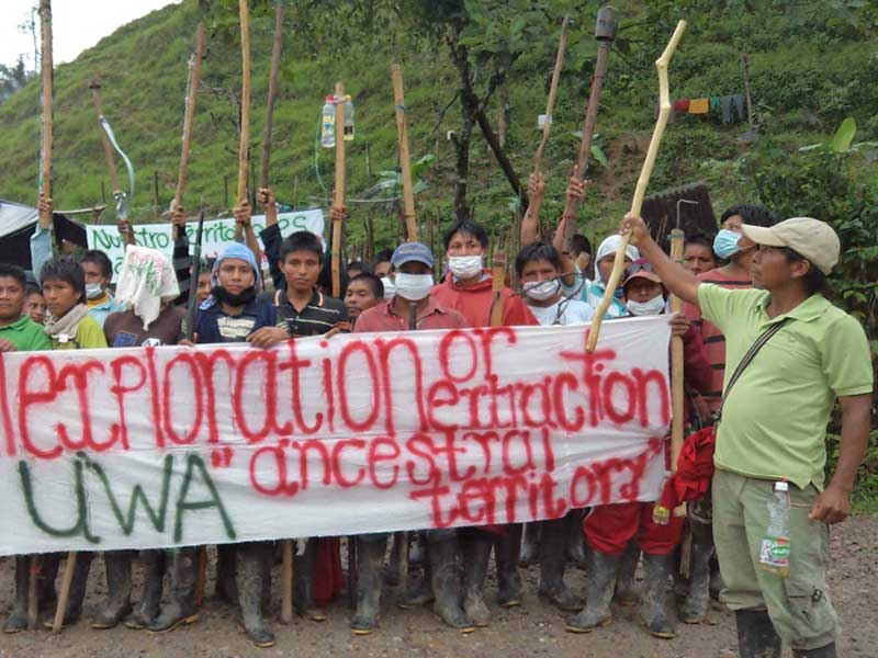 "Colombian Tribe Scores ""Historic"" Victory Versus Big Gas"