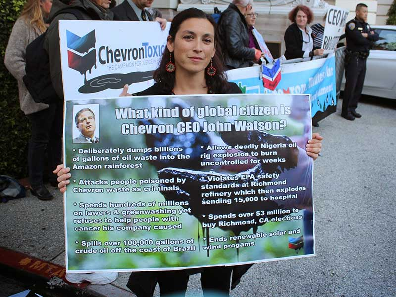 SF Commonwealth Club and Chevron CEO Shamed into Silence