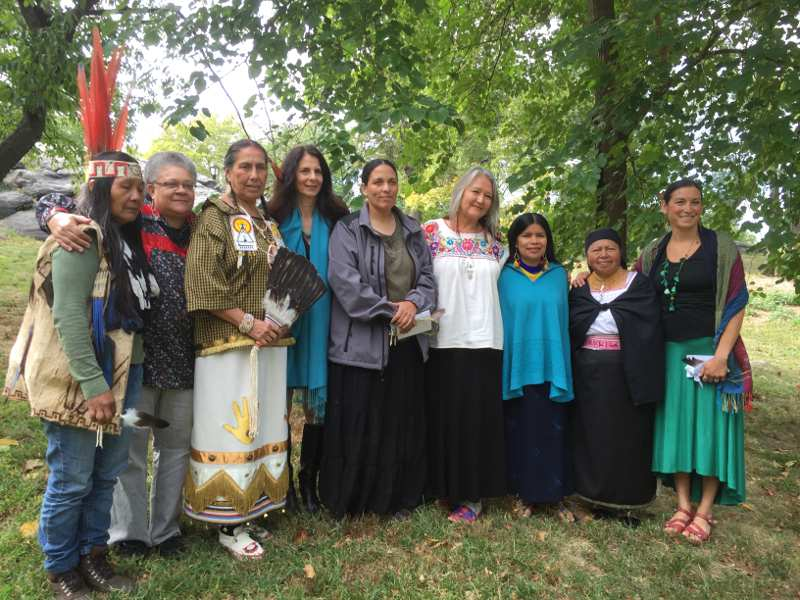 Indigenous Women Fulfilling Prophecy of the Eagle and the Condor