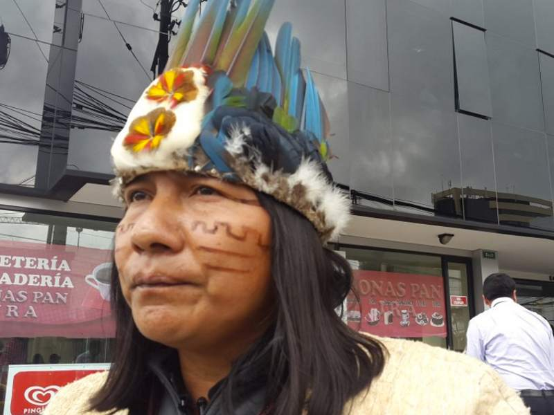 Small Tribe with a Big Voice Vows To Stop Chinese Oil Drilling in the Amazon