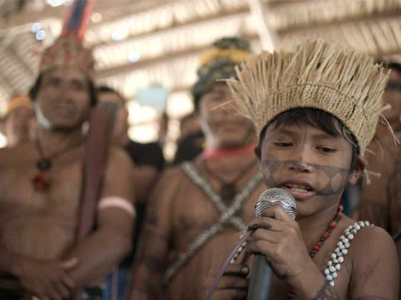 AMAZON WATCH Munduruku Building New Alliances To Fight Tapajos Basin Dams In Amazon