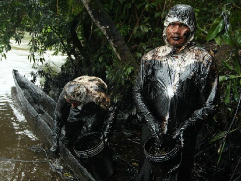 Oil Spill Causes a Disaster in the Amazon