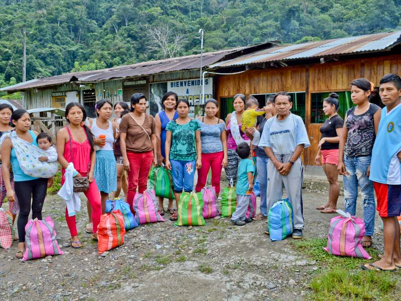 Chiriaco: First Solidarity Assistance Arrives in the Indigenous Community of Nazareth
