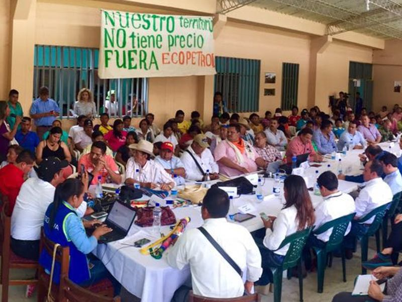 an overview of the uwa people in colombia Piece description description: currently the indigenous peoples of the amazon  rainforest are in a struggle with worldwide multinational corporations that want to  take over  aura benilda tegria, legal counsel to the uwa people of colombia.