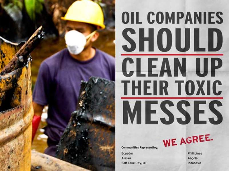 Chevron should clean up its toxic messes.