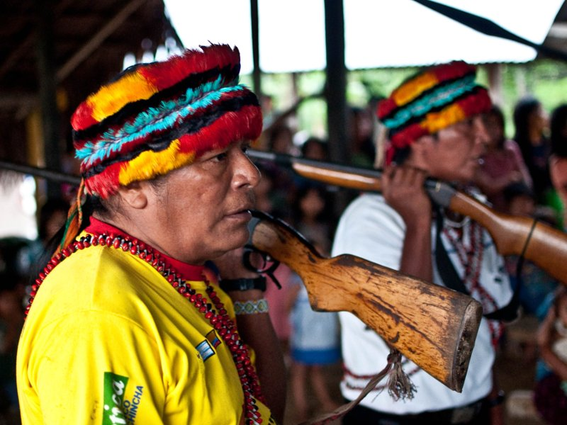 Amazonian Tribe in Peru Says It Will Block New Oil Drilling Plans