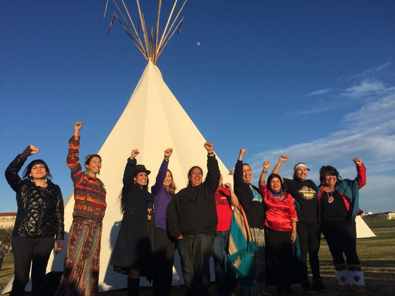 Native Nations Rise: Indigenous Solidarity in Action