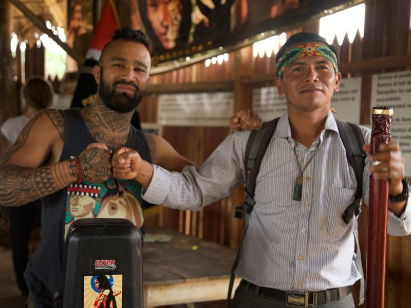 Visiting Indigenous Communities in the Amazon Rainforest with Nahko of Medicine for the People