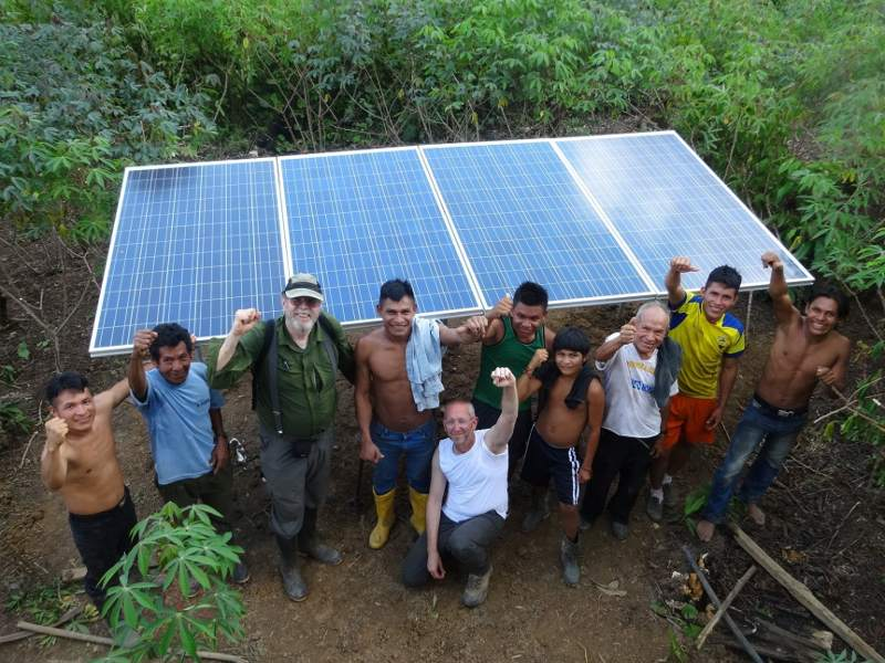 Solar Power Lights Up Amazon Communities Fighting Dirty Energy