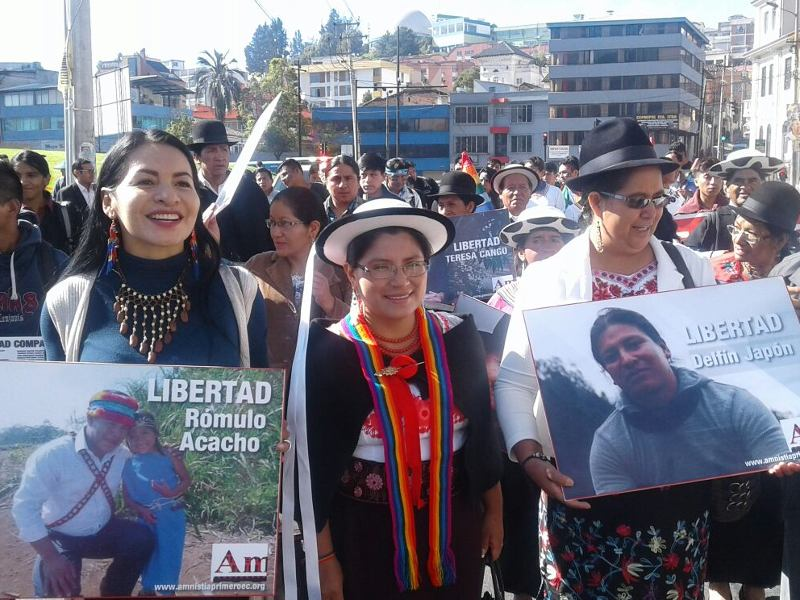 Indigenous Mobilization Results in Steps To End Criminalization in Ecuador