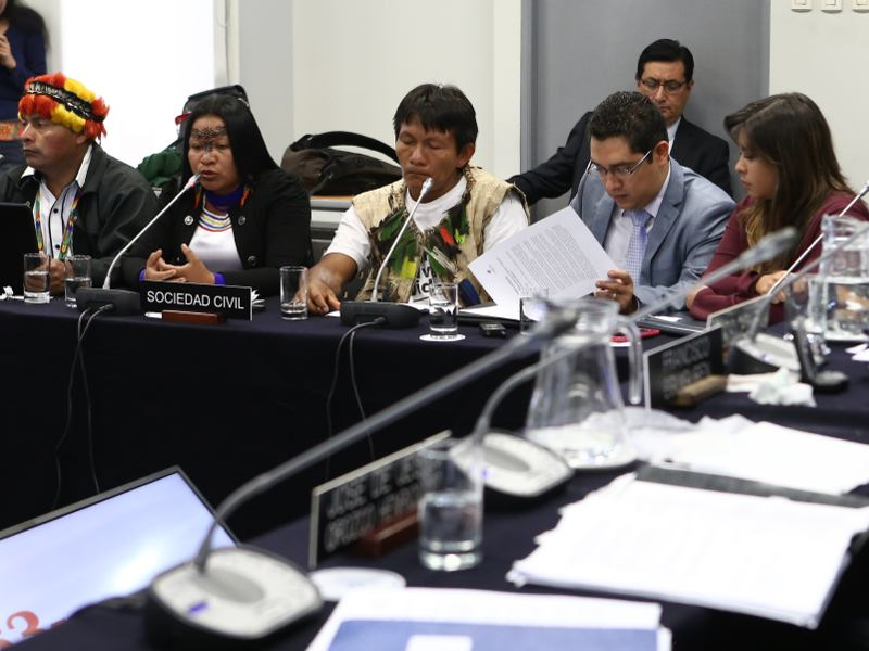 Ecuadorian Government Refuses To Appear at Hearing on Threat of Extractive Industry to Indigenous Peoples
