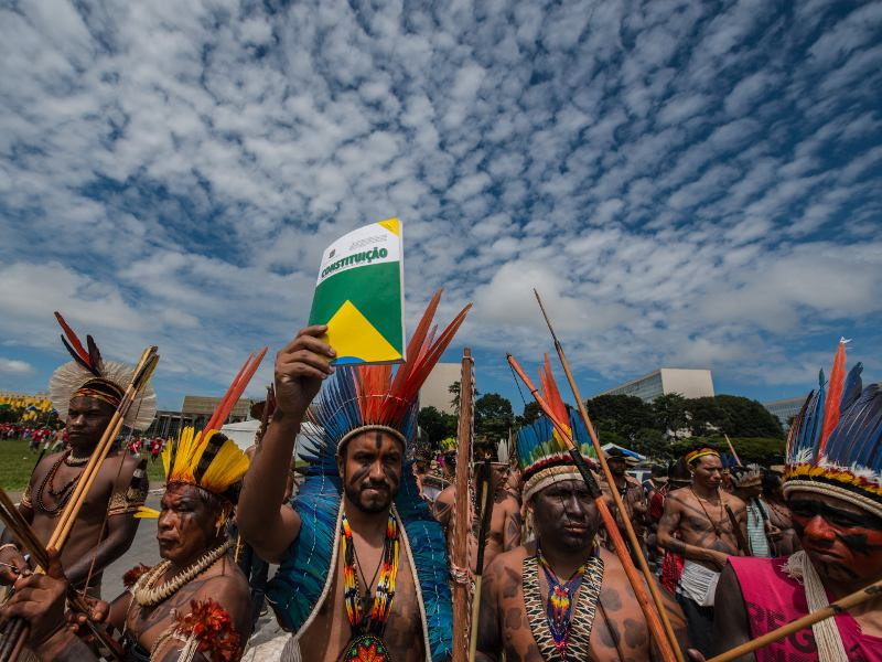 Desperate to Save His Job, Brazil's President Temer Escalates Assault on Indigenous Peoples and Amazonian Forests