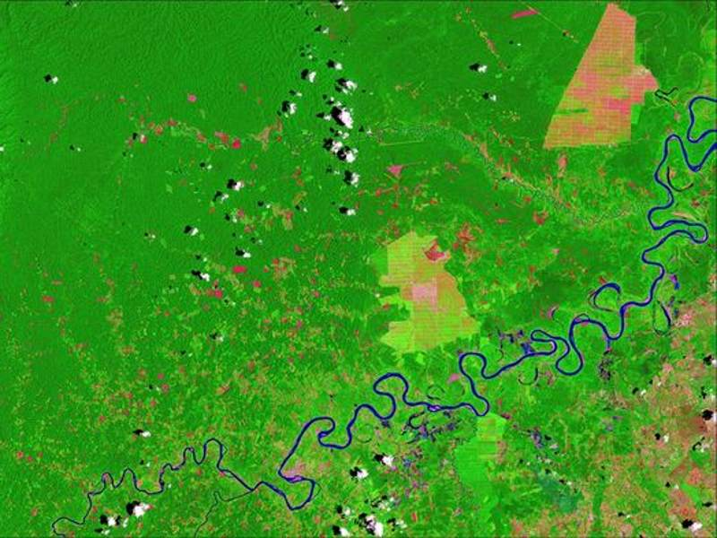 Maps Reveal How Amazon Development Is Closing in on Isolated Tribes
