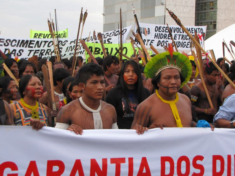 Victory for Indigenous Peoples as Brazil's Supreme Court Rejects Attempts To Limit Indigenous Land Rights