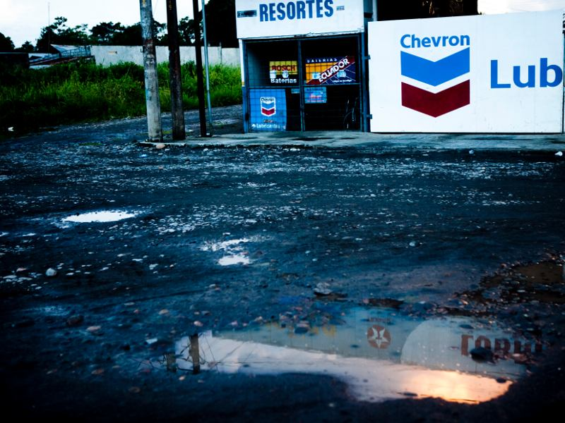 Chevron Texaco Benefitted from Dumping Oil in Ecuador Beyond Saving Money