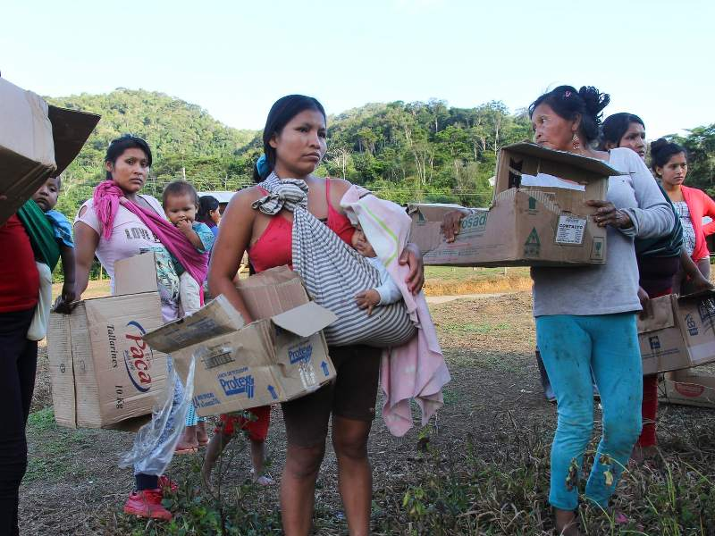 Signs of Lasting Trauma in People Evicted to Make Way for Giant Mine in Ecuador