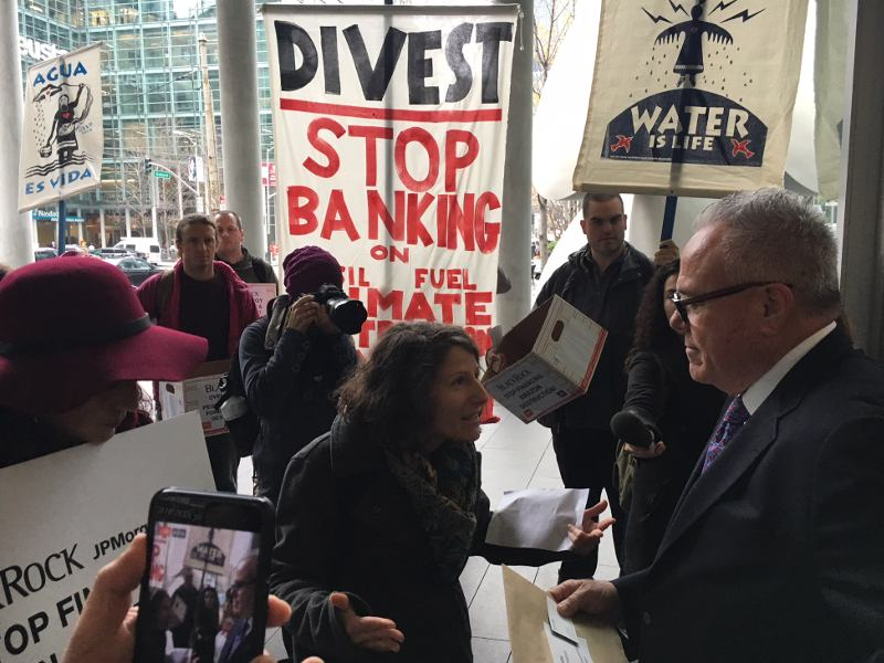 BlackRock Receives Over 122,000 Petition Signatures Calling for Divestment from Amazon Oil