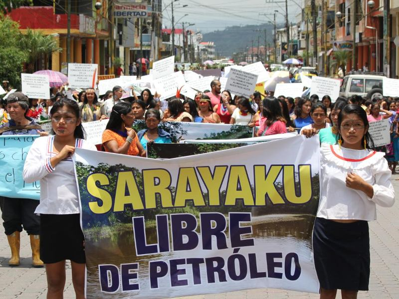 Indigenous Amazonian Women: Defending Mother Earth