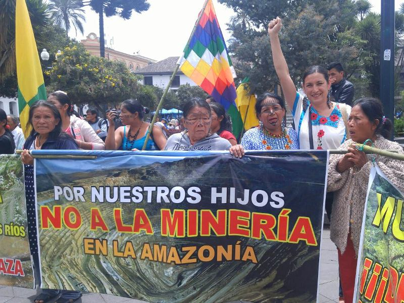 Standing Shoulder-to-Shoulder with Indigenous Women at Risk in Ecuador