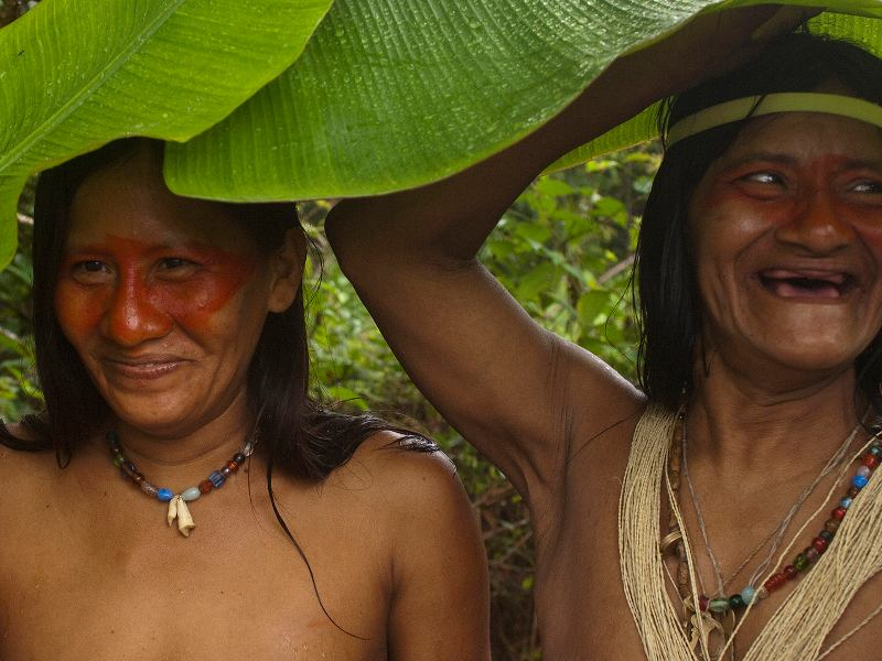 A Village in Ecuador's Amazon Fights for Life as Oil Wells Move In
