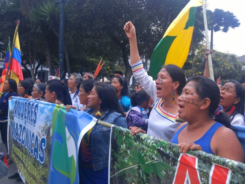 ENI-AGIP Oil Project Threatens Indigenous Territories in the Ecuadorian Amazon