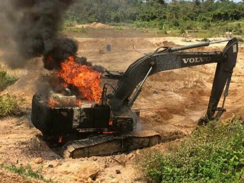 Government Crackdown on Illegal Amazon Gold Mining Could Backfire for Brazil's Munduruku