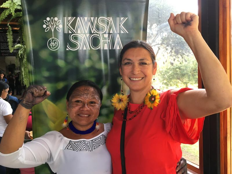 Sarayaku Launches Living Forest Proposal &ndash; <em>¡Viva Kawsak Sacha!</em>